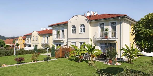 Wohnungsbau, Massivhaus.
