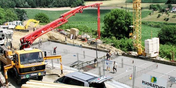 Puchleitner-Bau Transportbeton