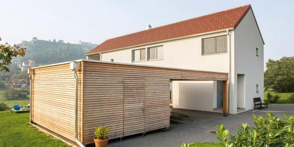 Puchleitner-Bau, Einfamilienhaus, Ziegel-Massivhaus.